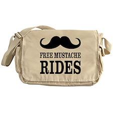 Mustache Rides Messenger Bag