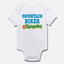 Mountain Biker in Training Infant Bodysuit