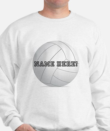 Personalized Volleyball Player Sweater