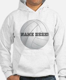 Personalized Volleyball Player Hoodie Sweatshirt