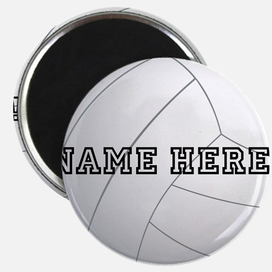 Personalized Volleyball Player Magnet