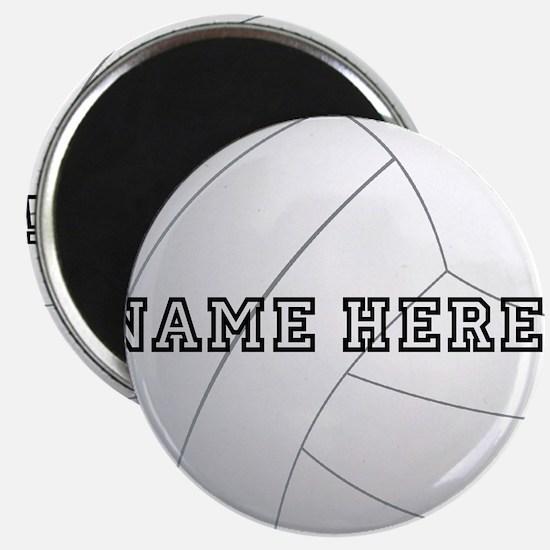 Volleyball Magnet CafePress - Custom sport car magnetsvolleyball car magnet custom magnets for volleyball players
