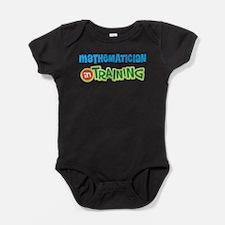 Mathematician in Training Baby Bodysuit