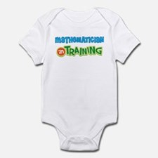 Mathematician in Training Infant Bodysuit