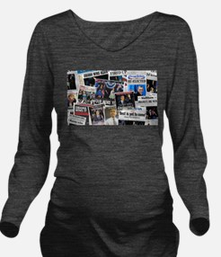 Barack Obama 2012 Re-Election Collage Long Sleeve
