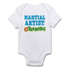 Martial Artist in Training Infant Bodysuit