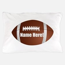 Personalized Football Pillow Case