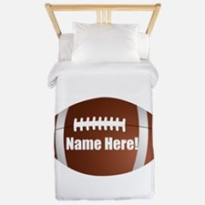 Personalized Football Twin Duvet