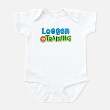 Logger in Training Infant Bodysuit