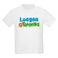Logger in Training T-Shirt