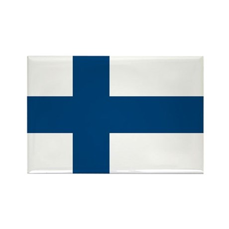 Finnish Flag Magnets