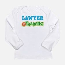 Lawyer in Training Long Sleeve Infant T-Shirt