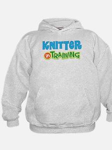 Knitter in Training Hoodie