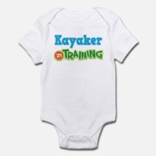 Kayaker in Training Infant Bodysuit