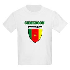 Cameroonian football Kids T-Shirt
