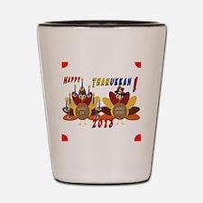 Happy Thanukkah Shot Glass