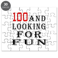 100 and looking for fun Puzzle