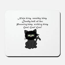 Ninja Kitty Mousepad