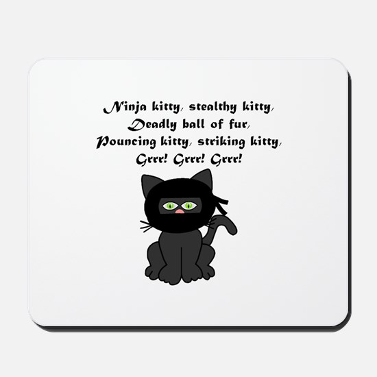 Ninja Kitty Mousepad