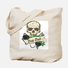 DROP DEAD Anti-Valentine Tote Bag