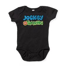 Jockey in Training Baby Bodysuit