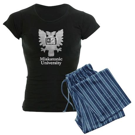 Miskatonic University Logo White Pajamas