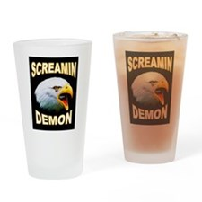 SCREAMIN DEMON Drinking Glass