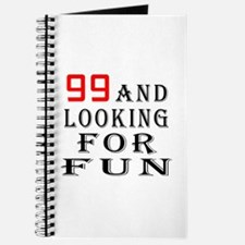 99 and looking for fun birthday designs Journal