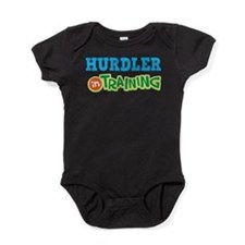 Hurdler in Training Baby Bodysuit