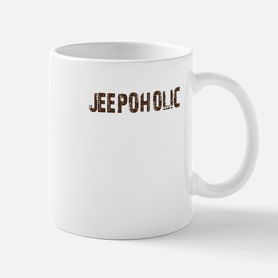 Jeepoholic. 4x4 Off Road Jeep Mug