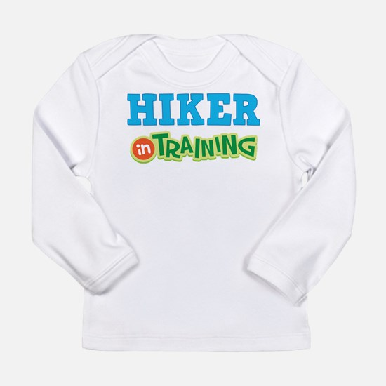 Hiker in Training Long Sleeve Infant T-Shirt
