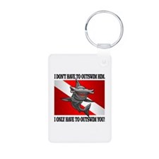 Dive Flag (Outswim) Keychains
