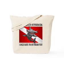 Dive Flag (Outswim) Tote Bag