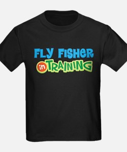 Fly Fisher in Training T