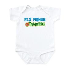 Fly Fisher in Training Infant Bodysuit