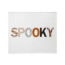 Spooky Throw Blanket