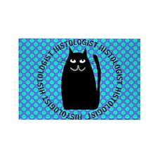 HISTOLOGIST CAT LOVER 3 Magnets