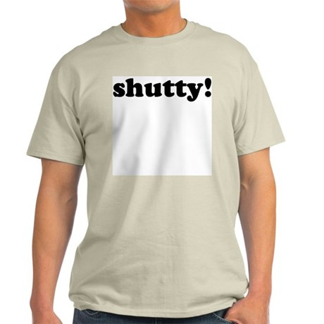 Shutty! Ash Grey T-Shirt