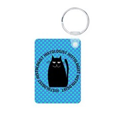 HISTOLOGIST CAT LOVER 2 Keychains