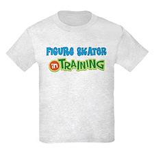 Figure Skater in Training T-Shirt