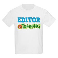 Editor in Training T-Shirt