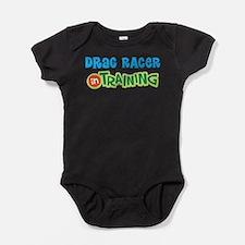 Drag Racer in Training Baby Bodysuit