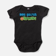 Disc Golfer in Training Baby Bodysuit