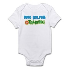 Disc Golfer in Training Infant Bodysuit