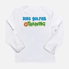 Disc Golfer in Training Long Sleeve Infant T-Shirt