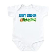 Dirt Biker in Training Infant Bodysuit