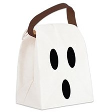 Ghost Face Canvas Lunch Bag
