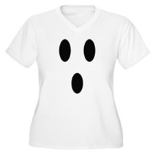 Ghost Face Plus Size T-Shirt