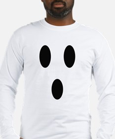 Ghost Face Long Sleeve T-Shirt