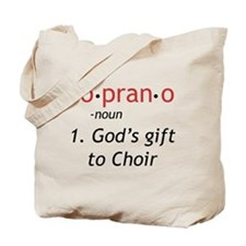 Soprano Definition Tote Bag